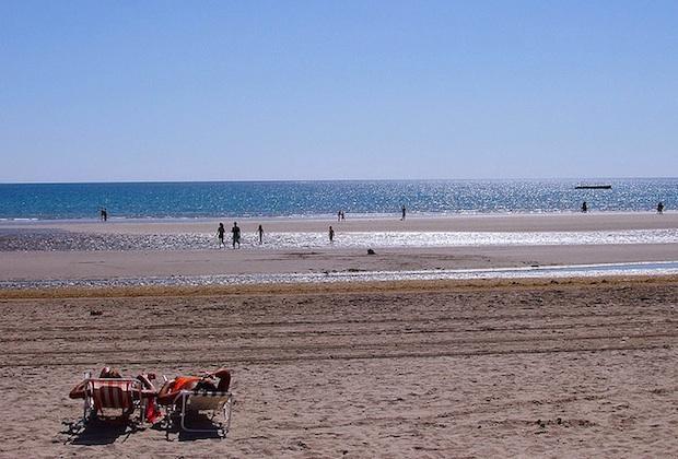 praia puerto madryn