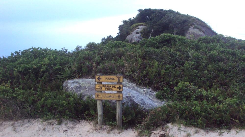 caminho praias ilha do mel