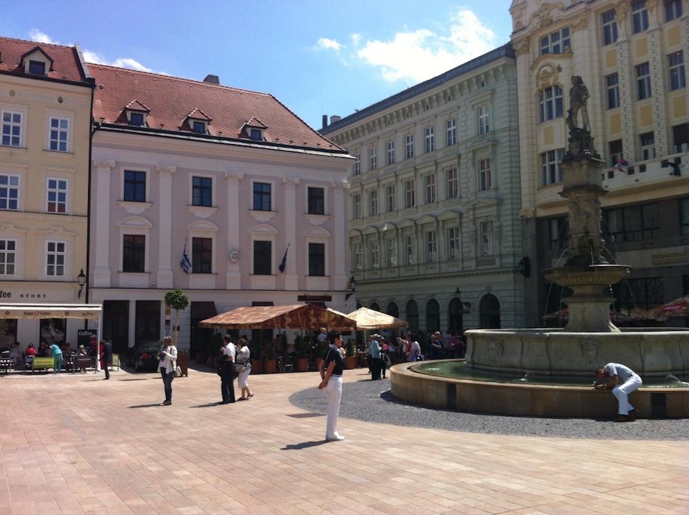 bratislava centro historico fonte