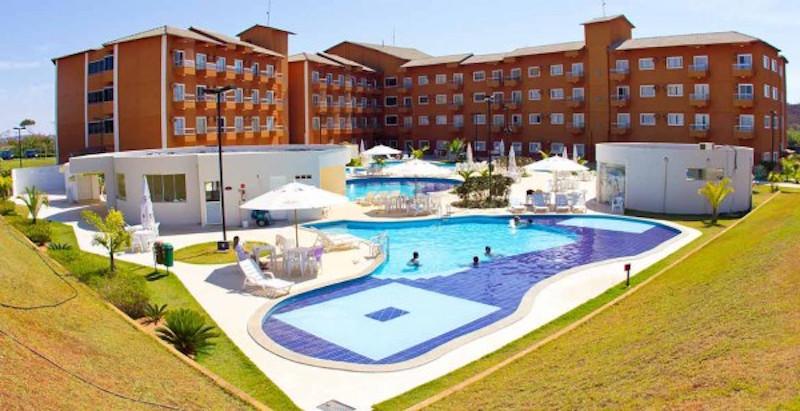 hoteis caldas novas lagoa quente hotel