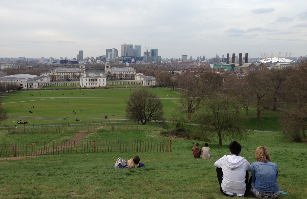 roteiro londres vista parque