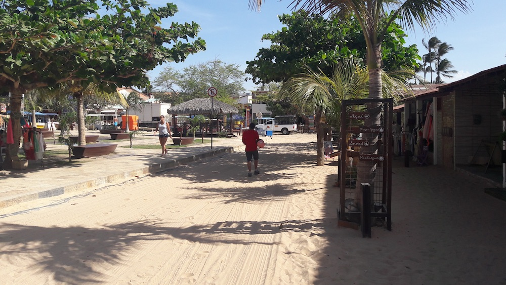 rua de areia jericoacoara